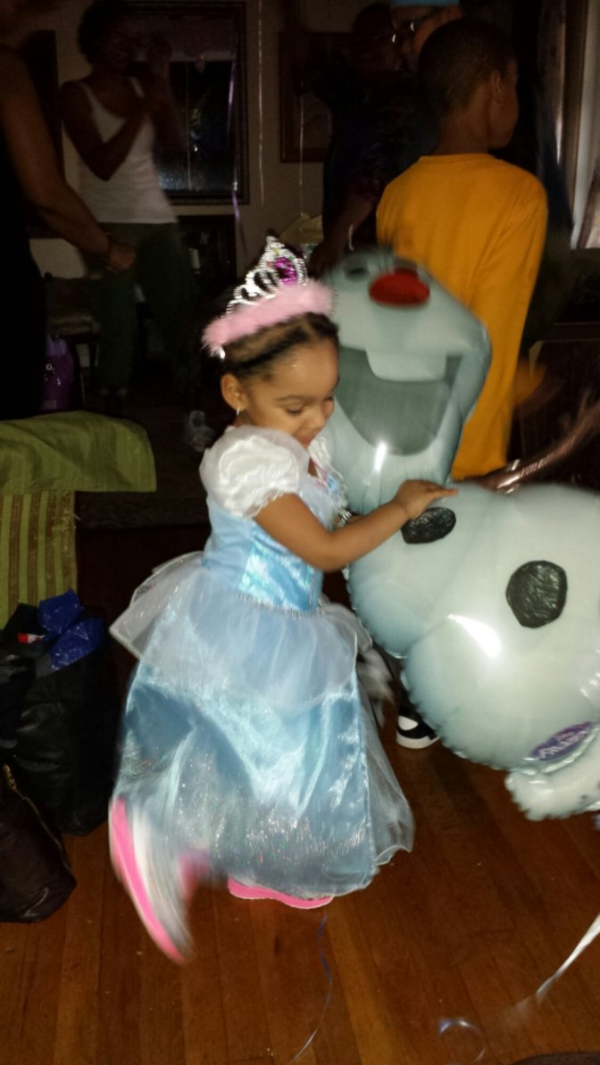 The Weekend In Pictures: Cydney's Often Delayed Third Birthday Party