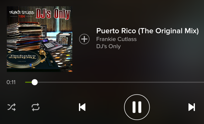 My Life in 100 Songs: Puerto Rico by Frankie Cutlass f/ The Evil Twinz