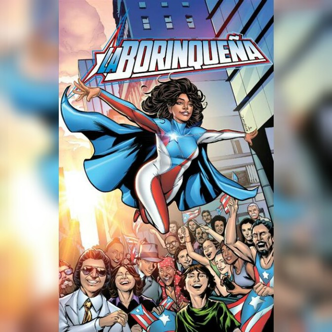 Afro-Puerto Rican Superheroine To Be Unleashed At National Parade In June